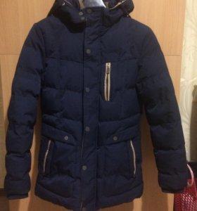 Куртка-парка подростковая зимняя