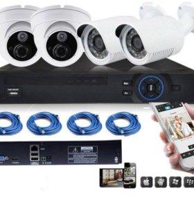 Комплект видеонаблюдения XPX HD DVR KIT K-520