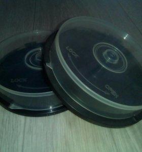 Коробочки (боксы) для дисков