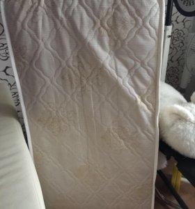Матрас в детскую кроватку Бесплатно !