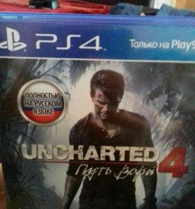 Игра для ps4 Uncharted4