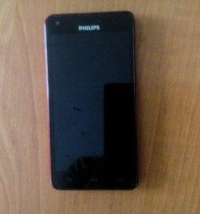 Смартфон филипс хениум377