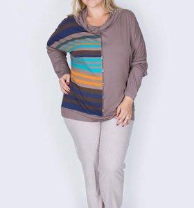 Блуза 60-62 размер новая
