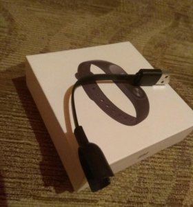 Коробка, чек, макулатурка и кабель mi band2 orig