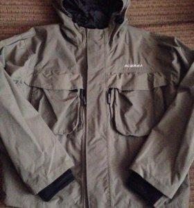 Продам фирменную куртку для рыбалки хаки размер 54