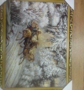 Гобеленовые картины в ассортименте