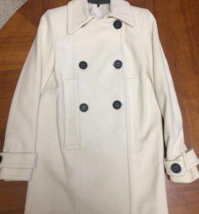 Кашемировое пальто Naf-Naf 36 (xs)