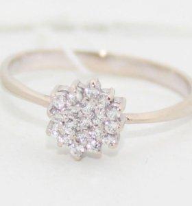 Кольцо из белого золота 585