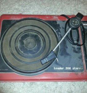 Leader 206 stereo
