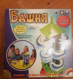 Башня игра настольная шарки