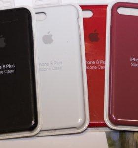 Для iPhone 8 Plus/7 Plus силиконовый чехол