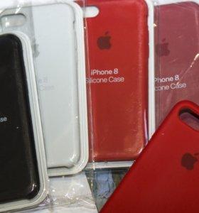 Для iPhone 7/8 силиконовый чехол