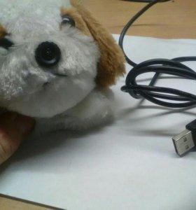 Веб камера в виде игрушки