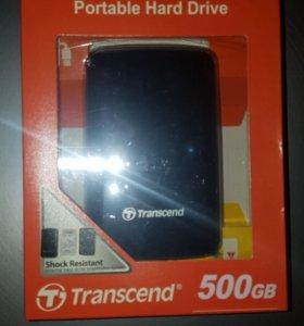 Жёсткий диск Transcend 500Gb