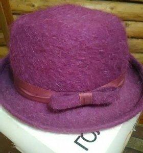 Шляпа,теплая женская