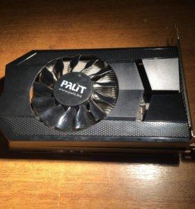 Видеокарта GTX650 1024M GDDR5 128B. Фирма Palit