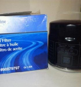 Фильтр масляный, GM 96879797 Nexia