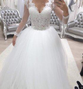 Свадебное платье дизайнера Анна Кузнецова