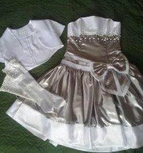 Нарядное платье(размер 48)
