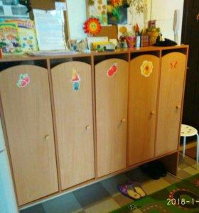 Шкафчики и Игровая стенка
