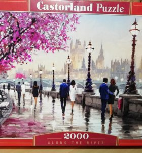 Пазл Castorland - Along the river