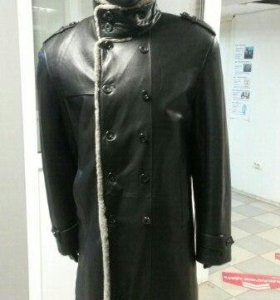 Пальто мужское кожа натуральная