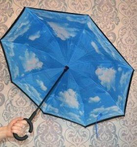Зонт наоборот. Обратного сложения.