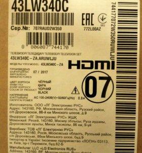 Телевизор LG LED 43LW340C