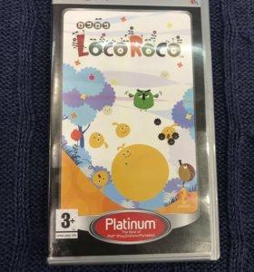 """Игра на PSP """"Loco Roco"""""""