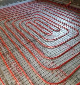 Теплый пол на деревянном и бетонном перекрытии