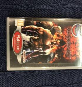 "Игра на PSP ""Tekken6"""