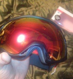 Маска горнолыжная сноуборд НОВАЯ