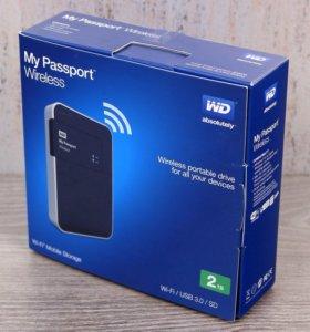 Новый жесткий диск на 2 Tb (wifi)