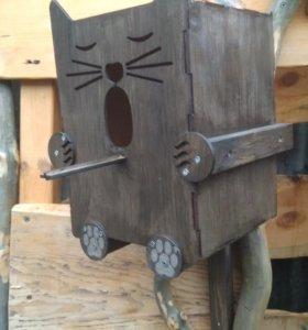 """Скворечник """"Хитрый котейка"""""""