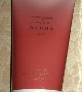 AVON парфюмированный лосьон ALPHA. НОВЫЙ