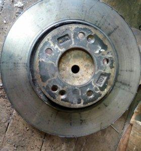 Тормозной диск передний kia cerato 2012