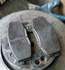 Тормозные колодки Bosch на Kia cerato 2012