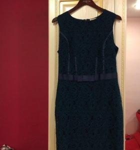 Темно-бирюзовое платье Zarina