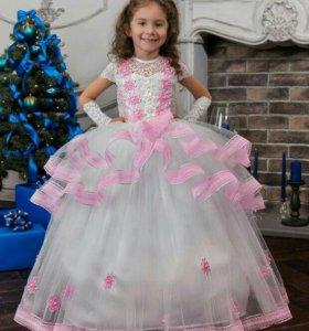Нарядные детские платья на выпускной под заказ