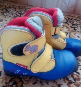 Лыжные ботинк