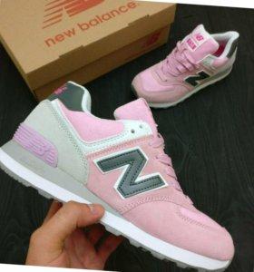 Розовые new balance