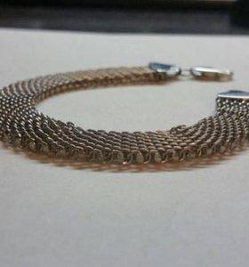 Браслет 20.5 гр. серебро 925°