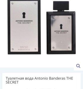 Духи мужские Antonio Banderas THE SECRET