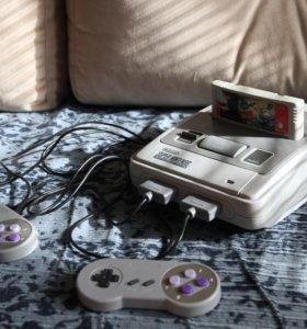 Super Nintendo-SNES(Комплект)