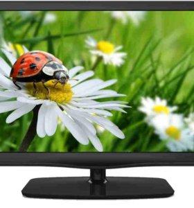 """Телевизор ЖК 20 шт Гелендж 17""""-20"""" с dvb-t2 и USB"""