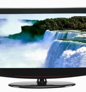 "Телевизор лсд 12 шт. Темрюк 15""-20"" с dvb-t2 и USB"