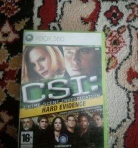 Игра на x-box360 CSI
