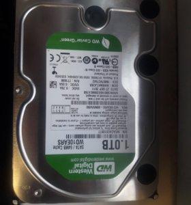 Hdd wd 1tb жесткий диск 1 терабайт