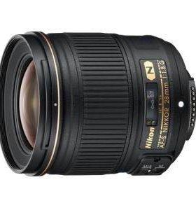 NIKON AF-S 28 mm f/1.8G Nikkor