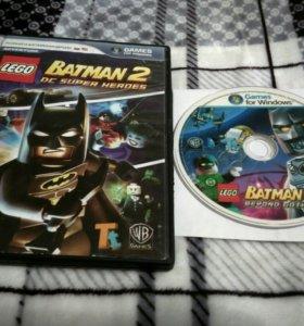 """2 игровых диска """"Лего Бэтмен 2;3"""""""